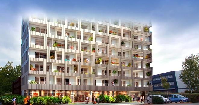 Capella, nouvelle réalisation Eiffage Immobilier à Nantes