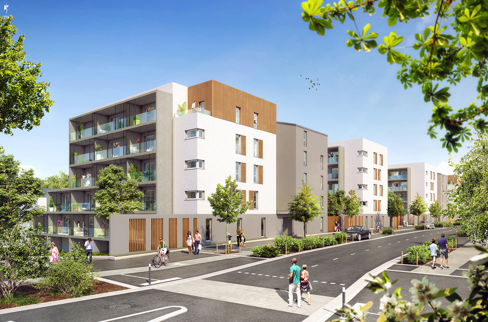 Nouvelle résidence Les Myriades à La Roche-sur-Yon
