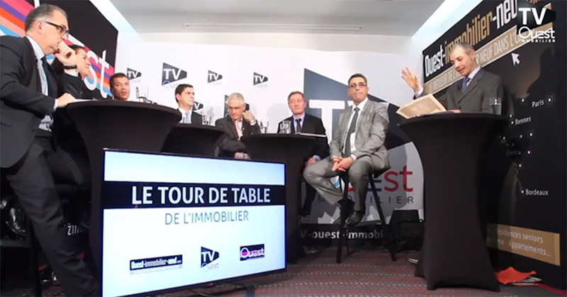 Bienvenue au premier Tour de Table de l'Immobilier