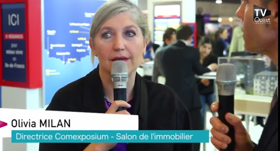 Belle affluence au Salon National de l'Immobilier !