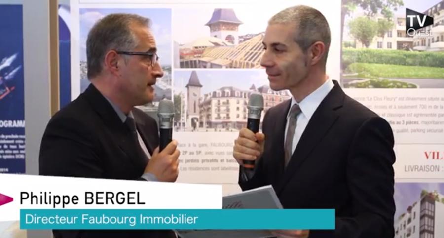 Philippe Bergel présente le programme Deauville Presqu'île